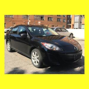 TODAY ONLY: 2011 Mazda 3 - Low km - Safety Test Done (Certified)