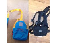Tommee Tippee Explora Safety Reins & Harness and Lindam Toddler Runner Backpack and Reins