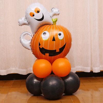 Halloween Helium Ghost Kürbis Ballons Post für Party Dekoration Kinder