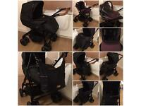 SILVER CROSS COUNTRY CLUB SPECIAL EDITION PRAM AND CAR SEAT