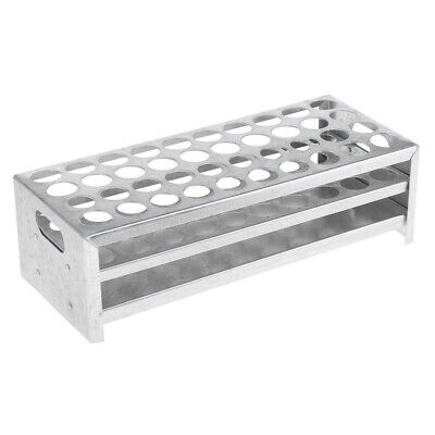 Test Tube Racks 304060 Holes 18mm Tubes Holder Stand Aluminum Lab Supplies