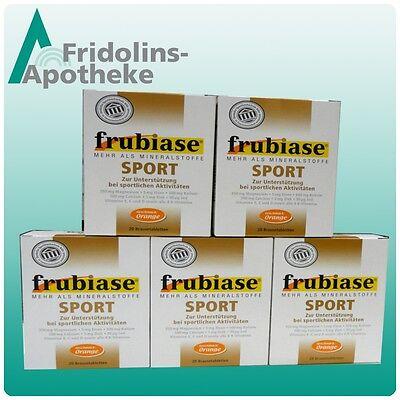Geschmack 100 Tabletten (Frubiase Sport 100 Brausetabletten / 5 x 20 / Geschmack: ORANGE )