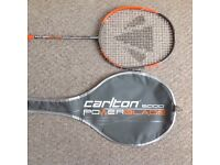 Carlton powerblade 6000 badminton racket