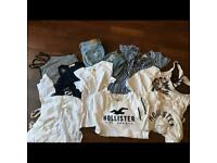 Hollister Bundle. All used but in excellent condition. Mostly sizes S and M