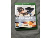 Overwatch Legendary edition: xbox one