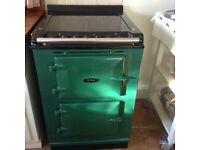 Green Aga oven