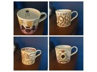 Collection of 20 Wedgewood Commemorative Mugs