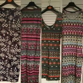 Size 8-10 bodycon midi and mini dresses