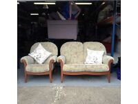 Three piece Suite consits of 2 x two seaters and a one seater