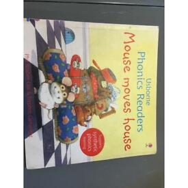Usbornes phonics readers books