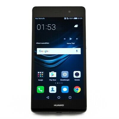 Huawei P8 lite 16GB schwarz Android Smartphone LTE 5 Zoll Display 13 Megapixel