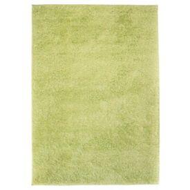 Shaggy Area Rug 140x200 cm Green-133059