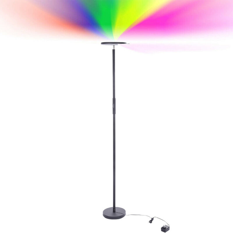 Led Torchiere Floor Lamp Dimmable/Color Changing Uplight Liv