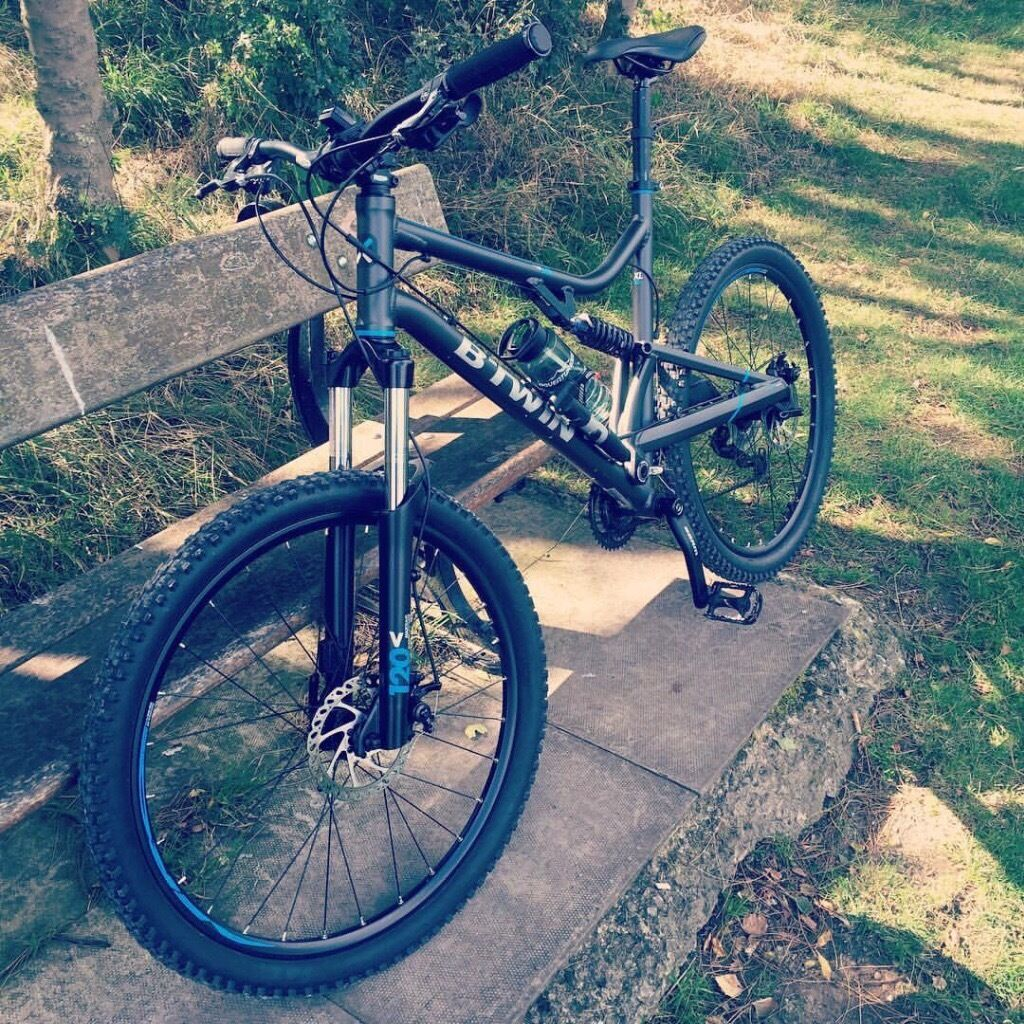 Electric Bicycles For Sale >> B Twin MTB Rockrider 500s full suspension Moutain Bike   in Rochdale, Manchester   Gumtree