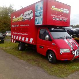 Removals Edinburgh short notice specialist