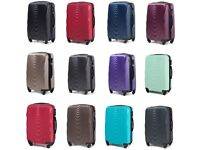Suitcase Case Luggage Waterproof 66L ABS+ Rubber Wheels Combination Lock