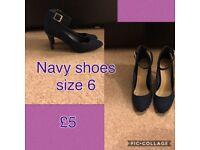 Ladies shoes size 6 good condition