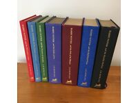 HARRY POTTER DELUXE EDITION 1-7 FULL COLLECTION with 1st Editions - J.K. Rowling UK-bloomsbury in