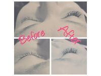Semi permanent eyelash extensions, eyebrow waxing, threading and tinting.