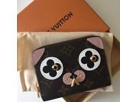 Authentic Louis Vuitton Dog Zippy Coin Purse