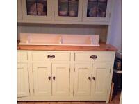 Wooden shelf chunky kitchen