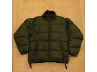 Lowe Alpine full down reversible coat