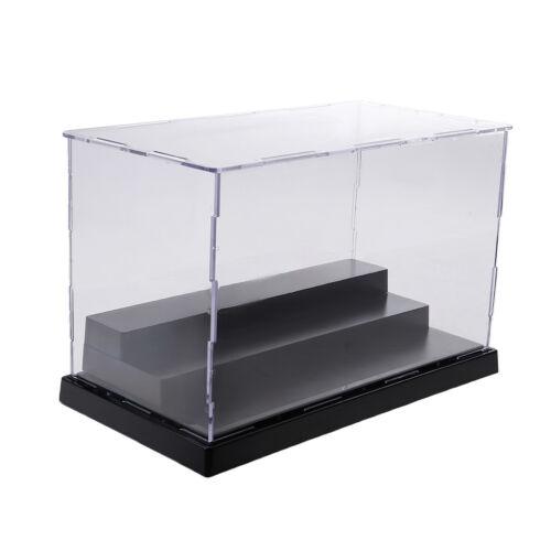 Acrylic Display Box Case Protector 3 Steps for Amiibo Funko