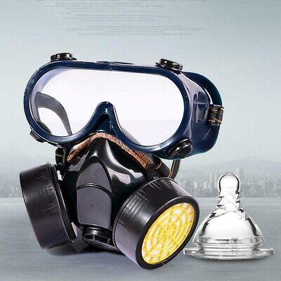 SCHUTZMASKE Gasmaske BW PL Unbenutzt ABC Filter MS-4 Tasche B-Ware komfortabel