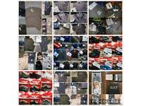 WHOLESALE MEN'S CLOTHING HUGE RANGE FROM TRACKSUITS TRAINERS T SHIRTS POLOS!!!