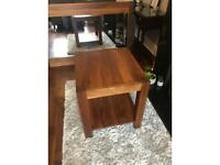 Barker and Stonehouse solid walnut side Table/ coffee table