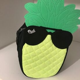 Victoria's Secret new smell black bag. Cute pineapple bag.