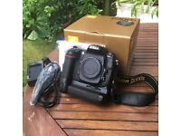 Nikon D300s body + Nikon MB-D10 battery grip