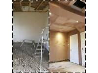 Plasterer no job to big or too small competitive prices