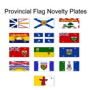Provincial Flag Novelty License Plates Car Truck Auto