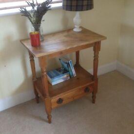 Little Wooden Side Table