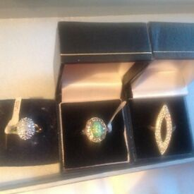 Costume jewellery of rings