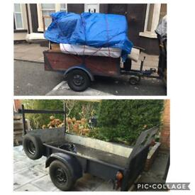 Merseyside Rubbish removal man & van size trailer, Rubbish & Garden waste collection, clearance