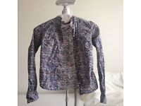 Pringle of Scotland Women's Pattern L/S Shirt size 8