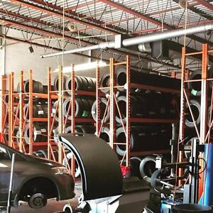 ONLY 3 DAYS SPECIAL PRICE USED ALL SEASON and WINTER TIRES SALE 70% - 90% tread left FREE INSTALLATION and BALANCE