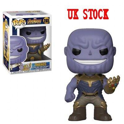 UK 2018 Funko POP The Avengers Infinity War Thanos Vinyl Figure Toy Kid Gift Box