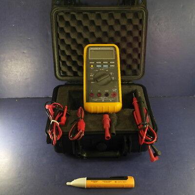 Fluke 88 Automotive Meter Very Good Screen Protector Hard Case