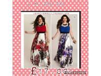 Ladies maxi floral dress