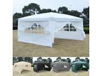 Costway UK 3X3M Pop Up Gazebo Wedding Tent Waterproof Canopy Awning Marquee W/ Carry Bag