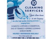 ***ID Cleaning Service*** Offering the BEST RATES in the area.....Get Quotes!!