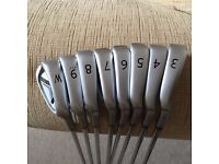 Ping I25 irons 4-PW (yellow dot) (excellent condition)