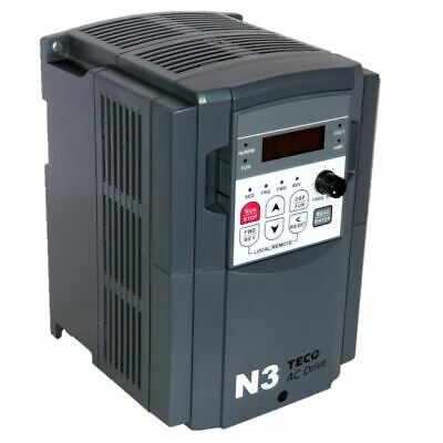 3 Hp 3 Phase 460 Volts Teco Nema 1 Variable Frequency Drive N3-403-c-u