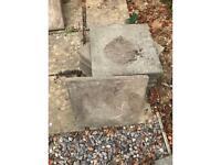 Paving slabs 40 x 40 cm