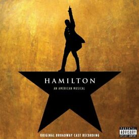 Hamilton Musical – 2CD Set