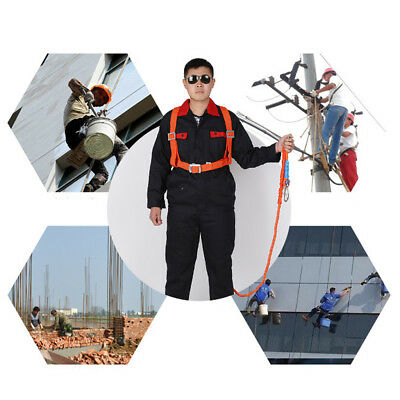 Safety Work Harness Fall Protection 100kg High And Low Temperature Resistant