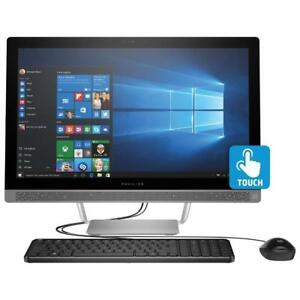 HP* All in One 24'' Touch Screen in open box AMD A10 8GB 1TB, AMD Radeon R5 +Mc Office Pro 2016